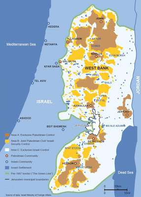 The West Bank is fragm...