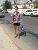 Jordana Gilman Volunteer in Israel 50 days of summer