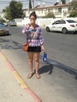 Jordana Gilman Volunteer in Israel 50 days of summer