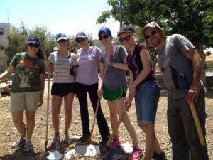 Volunteering in Israel with Yahel