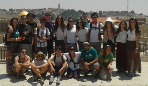 Yahel Camp Tawonga Group Day 1 Jerusalem