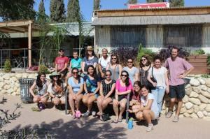Yahel Israel Volunteers in Be'er Sheva