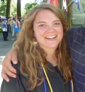 Sarah Brown Campello Volunteer in Israel
