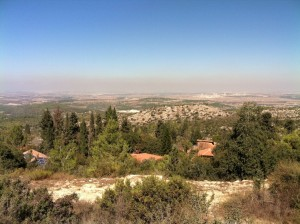 Yahel volunteers Israel view 4