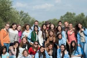 Yahelnekim with some of their Druze hosts