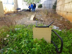 Gardening Project in Israel with Yahel Israel Service Learning
