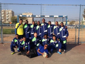 The Gedera Eagles soccer team