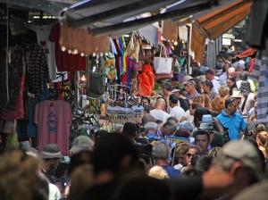 Carmel Market in Tel Aviv