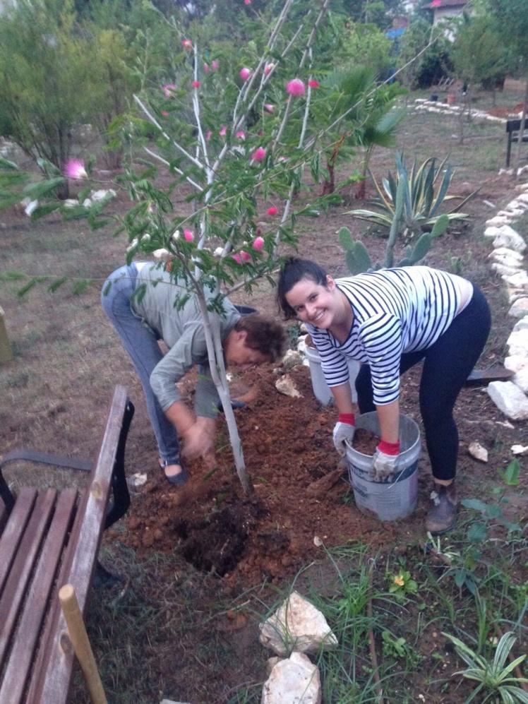 Adrienne Gardening.jpg