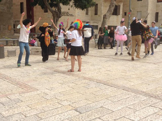 Purim Festivities in Jerusalem